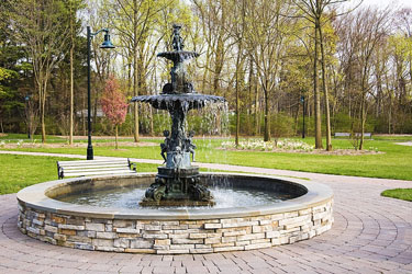 Oakes Park fountain, Old Tappan, NJ
